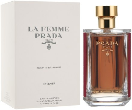 cdfd8b655a99 Артикул:54511в наличии. Prada Тестер La Femme Prada Intense Парфюмированная  вода ...