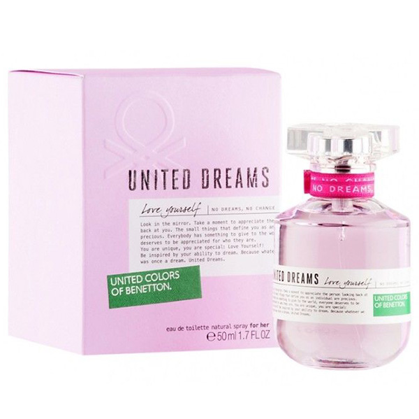 United dreams love yourself for Benetton united dreams love yourself