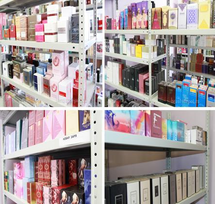 Работа в парфюмерии и косметики